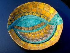 Pesce mosaico,  www.leterrecolorate.com