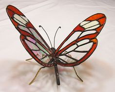 Glass Wing Butterfly - Delphi Stained Glass