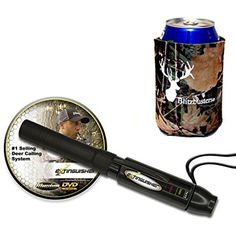 Extinguisher Deer Call (Black) Doe Buck With DVD Instructional Free Camo Koozie #IllusionSystems