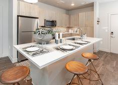 #kitchengoals #kitchenisland #barstools #mordernkitchen #utahliving Kitchen Backsplash, Kitchen Island, Chipotle, Luxury Tumblr, 2048x1152 Wallpapers, Welcome Design, Small Cottage Kitchen, Planer, Bar Stools