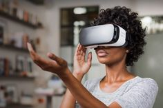 Oculus has already sold more than 1 million virtual reality head-mounted displays — although most of those are the Gear VR peripheral for Samsung Galaxy phones. Samsung Vr, Samsung Galaxy, Steve Wozniak, Virtual Reality Headset, Augmented Reality, Galaxy Note, Feed Rss, Australian Airlines, Cool Tech Gifts