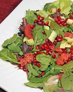 Avocado, Grapefruit, and Pomegranate Salad Recipe