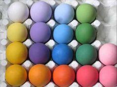 huevos de colores - YouTube