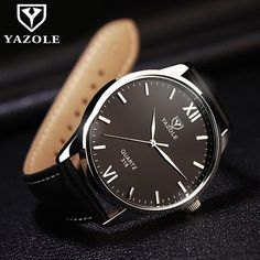 Cheap watches nice, Buy Quality watches rose directly from China watch neon Suppliers: Wrist Watch Men Watches 2016 Top Brand Luxury Famous Wristwatch Male Clock Quartz Watch Hodinky Quartz-watch Relogio Masculino Big Watches, Cheap Watches, Best Watches For Men, Fossil Watches, Luxury Watches For Men, Cool Watches, Black Watches, Dress Watches, Sandro