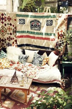 31 Best Bohemian Decorating Ideas | Domino