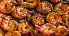 & Healthy Dinner: 20 Minute Honey Garlic Shrimp Easy, healthy, and on the table in about 20 minutes! Honey garlic shrimp recipe on Easy, healthy, and on the table in about 20 minutes! Honey garlic shrimp recipe on Shrimp Recipes For Dinner, Shrimp Recipes Easy, Garlic Recipes, Easy Recipes, Honey Recipes, Simply Recipes, Popular Recipes, Honey Shrimp, Garlic Shrimp