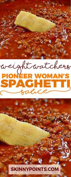 Spaghetti Sauce - Weight Watchers FreeStyle Smart Points Friendly