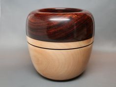 Handmade Wooden Bowl made of the Exotic South by Colemancrafts