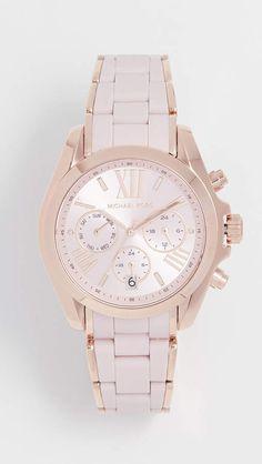 82c5e297f Michael Kors Bradshaw Watch, 38mm #watch #wrist_watch #stunning_stylish  #rose_gold_white_color #roman_numerals #shopstyle