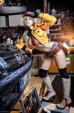 Cidney by AsunaYuki92.deviantart.com on @DeviantArt - More at https://pinterest.com/supergirlsart #cindy #final #fantasy #ff15 #ffxv #xv #cosplay #girl