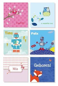 Persbericht: Vos en robot opkomende trends bij geboortekaartjes
