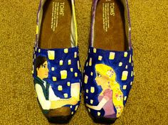 Toms Outlet toms shoes,toms cheap,toms fashion,toms for women Hand Painted Toms, Painted Shoes, Disney Toms, Disney Outfits, Cheap Toms, Toms Shoes Outlet, I Saw The Light, Disney Style, Disney Inspired