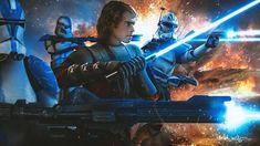 Star Wars Klone, Star Wars Meme, Star Wars Fan Art, Star Wars Pictures, Star Wars Images, Ahsoka Tano, Anakin Skywalker, Star Wars Poster, Clone Trooper