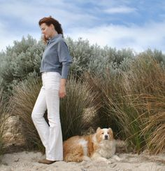 Handmade by Carolyn: White-y tighties Burda 7863 jeans pattern