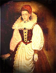 Erzsebet Bathory of Hungary~was a Hungarian countess & one of the inspirations for Bram Stoker's Dracula. She was a real-life equivalent of a vampire & is said to have slaughtered six hundred young women so that she could improve her complexion by bathing & drinking their blood.      DOUBLE YUCK..