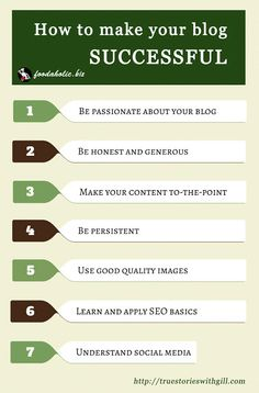 7 Tips for a Successful Blog. #BloggingTips #Marketing