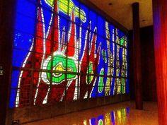 Vitral de Fernando Léger Universidad Central de Venezuela  Fotografía cortesía de @Omarcero  Etiquétanos en tus fotos de la Universidad utilizando el hashtag #YoVivoLaU y las compartiremos en nuestro perfil  #LaCuadraU #YoVivoLaU #UCVve #UCV #UniversidadCentralDeVenezuela #LaCentral #LaCasaQueVenceLaSombra #Caracas #Venezuela #Universidad #CampusUCV #CampusUniversitario #Universitario #Ucevista