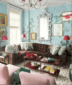 Ten Colorful Paint Colors That Act Like Neutral Paint Colors - laurel home