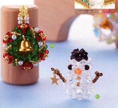 3D Swarovski Beads Christmas