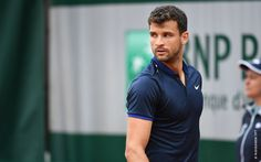 A look of regret from Grigor Dimitrov, unsuccessful in his battle against Serb Viktor Troicki, taking him to five sets. Troicki will be the one to advance to the second round.