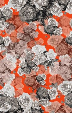 Lovely! Mr Rose - One of our beautiful prints from our Autumn/Winter 2012 range.