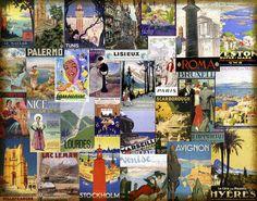 European Cities Collage - Wall Mural & Photo Wallpaper - Photowall