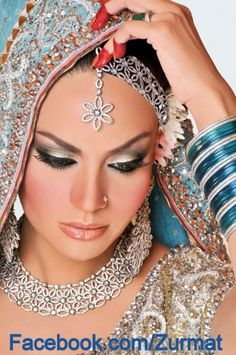 indian clothingjewelleri, beyouti, eye makeup, beauti bride, brides, bollywood bride, jewelri, bridal sets, eyes