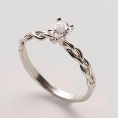 Simple Unique Wedding Rings
