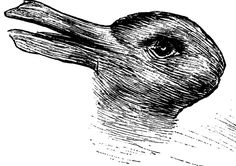 This is a famous optical illusion. Before we go any further, what do you see? You might see a duck. You might see a rabbit. (If you only saw one, look for the other.) Your brain decides what to see, and then once it fixes on it, … What Do You See? Duck Or Rabbit, Perspective Taking, Cool Optical Illusions, Before We Go, Good Day Song, What Do You See, Funny Images, Funny Pictures, Stranger Things