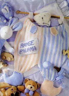Un range-pyjama Range Pyjama, Pochette Portable, Baby Quilts, Blog, Pajamas, Teddy Bear, Toys, Children, Animals