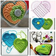 Beautiful Crochet Patterns and Knitting Patterns - Browse our thousands of free crochet patterns and knitting patterns. Beau Crochet, Crochet Mignon, Cute Crochet, Beautiful Crochet, Crochet Baby, Knit Crochet, Crochet Motifs, Crochet Chart, Crochet Stitches