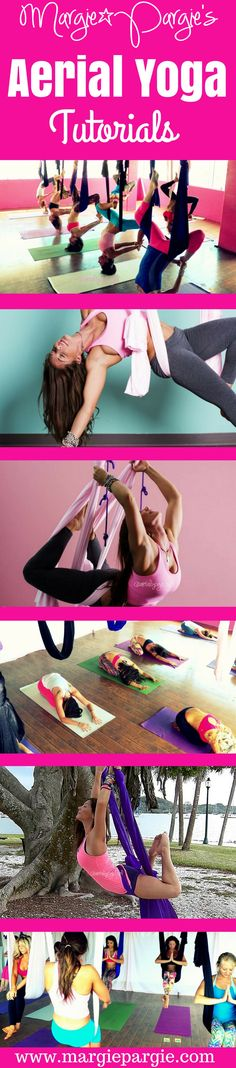 Aerial Yoga Tutorials