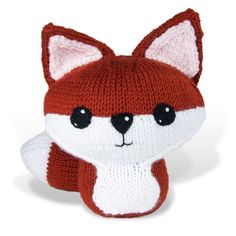 Crafty Alien Blog - Make it out of the world: Knit Amigurumi Fox