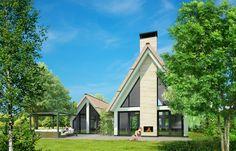 Architektenburo JJ van Vliet. Bouwkavels aan de Rotterdamseweg in Delft.