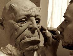 Ogre mask Finishing by glaucolonghi on deviantART