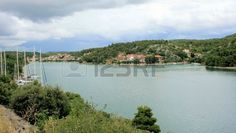 River view in Sibenik, Croatia