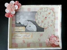 Mother's Day Shadow Box: This coming May will mark my daughter's very first Mother's Day! I thought I would commemorate this joyous occasion by making a shadow box with a picture