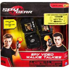 ***FAST TRACK*** Spy Gear - Video WalkieTalkies - Walmart.com
