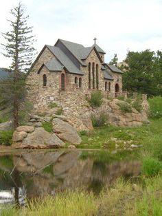 Chapel at St. Malo's Retreat Center near Allenspark, CO
