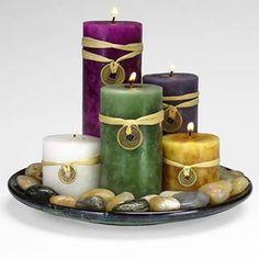 """""""AS VELAS FALAM COM VOCÊ"""" Quando acendemos uma vela e temos alguma intenção em mente, este já se tornou um ato mágico. As velas são um meio..."""