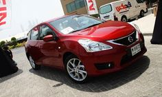 How exciting - not - it's the all-new Nissan Tiida. Here are the details, if you must know New Nissan, Middle East, Product Launch, Vehicles, Stuff To Buy, Cars, Car, Vehicle