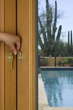 Sliding Door Security Latch