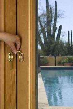 Sliding Door Security Latch