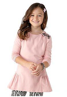 kc parker® Knit Peplum Tunic Girls #belk #kids
