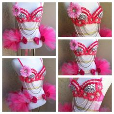 EDC Outfits | Pink EDC outfit | EDM