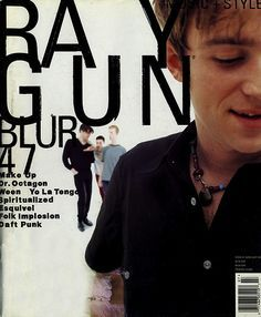 Raygun Covers on Pinterest | David Carson, Guns and Magazines