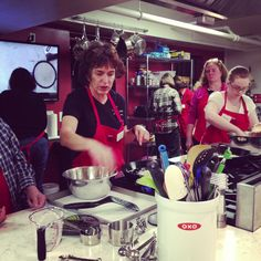 Cooking class at Tess' Kitchen, Grass Valley, taught by Roberta, Cast Iron Cooking
