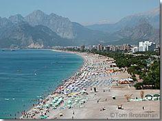 Mediterranean Turkey Guide Picture of Konyaalti Beach, Antalya, Turkey