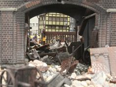 Creating Dioramas is all about composition, as this diorama demonstrates.