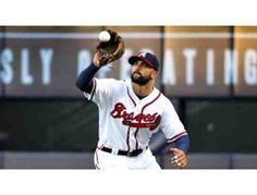 This auction item is an autographed baseball signed by Braves outfielder Nick Markakis. Nick has previously played for the Baltimore Orioles from 2006 to 2014. Markakis is a two-time Gold Glove Award winner.